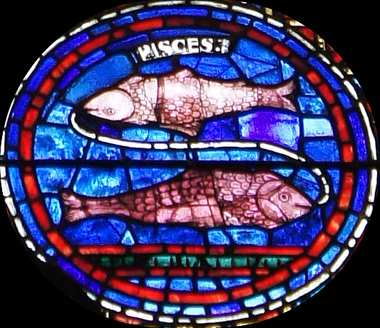 Vitral sur de la Catedral de Chartres (detalle)
