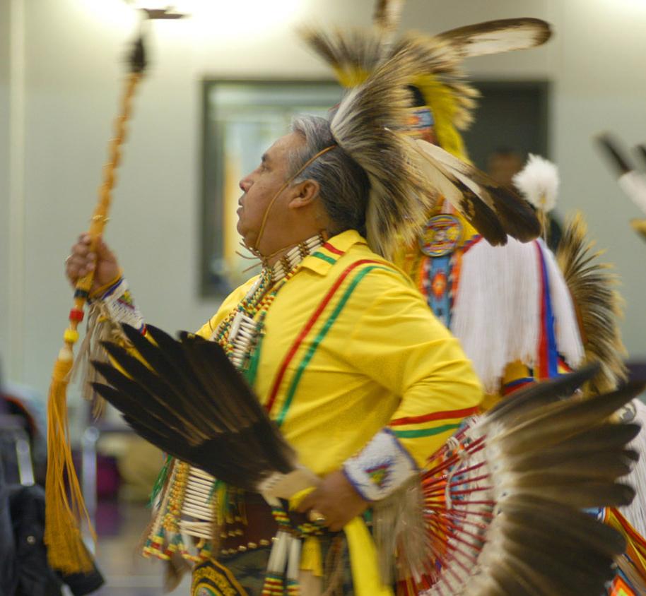 Danza tribal de la Tribu Omaha