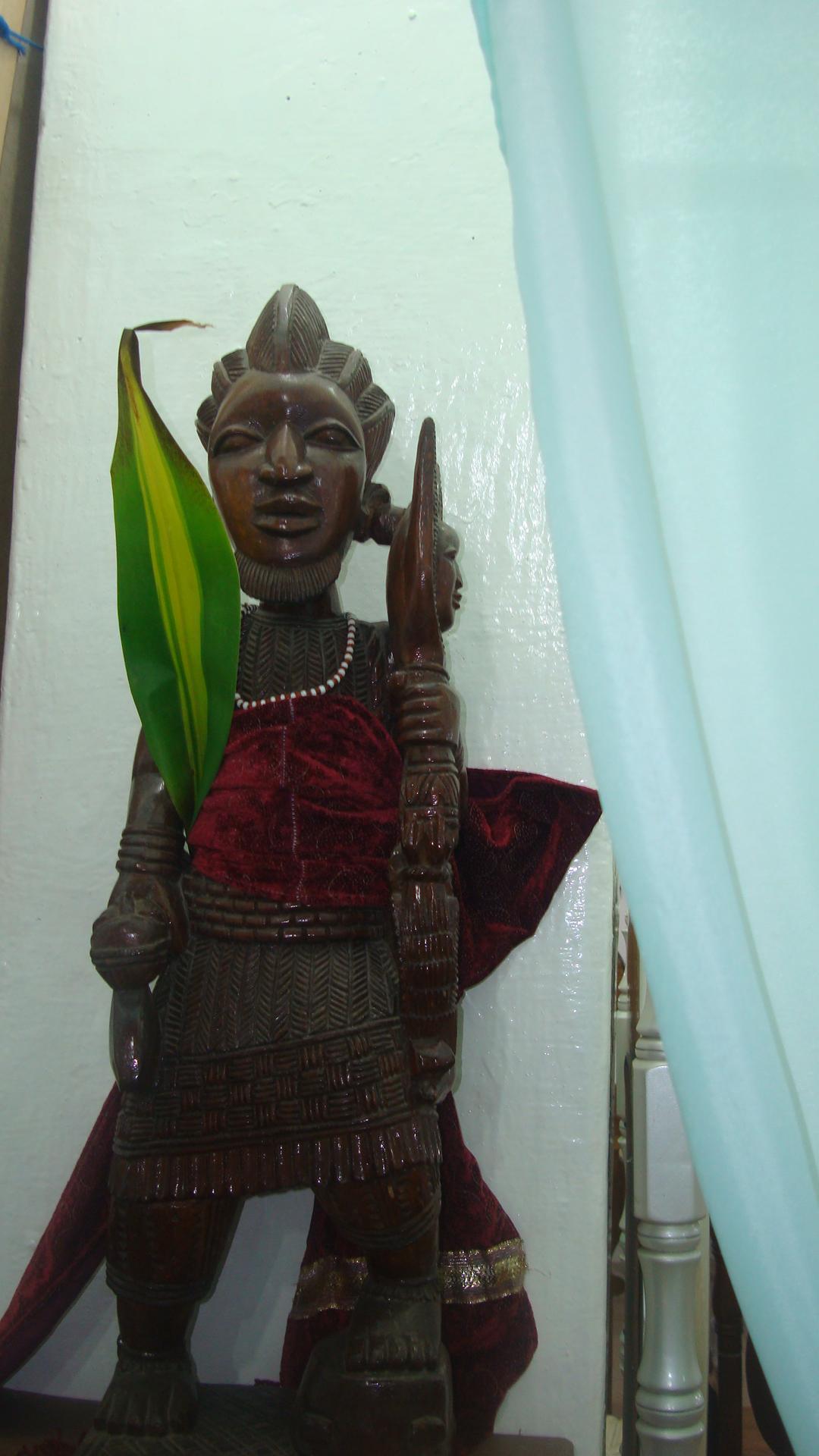 Escultura de Changó