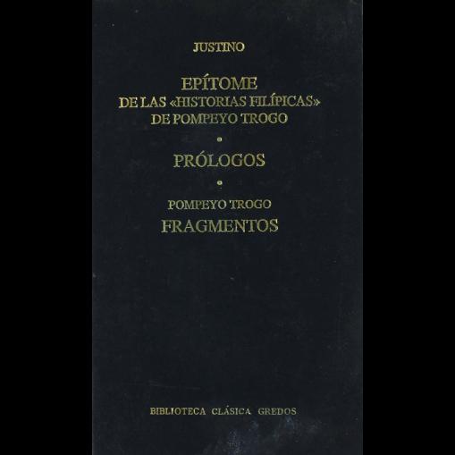 """Epitome de las """"Historias Filípicas"""" de Pompeyo Trogo"""