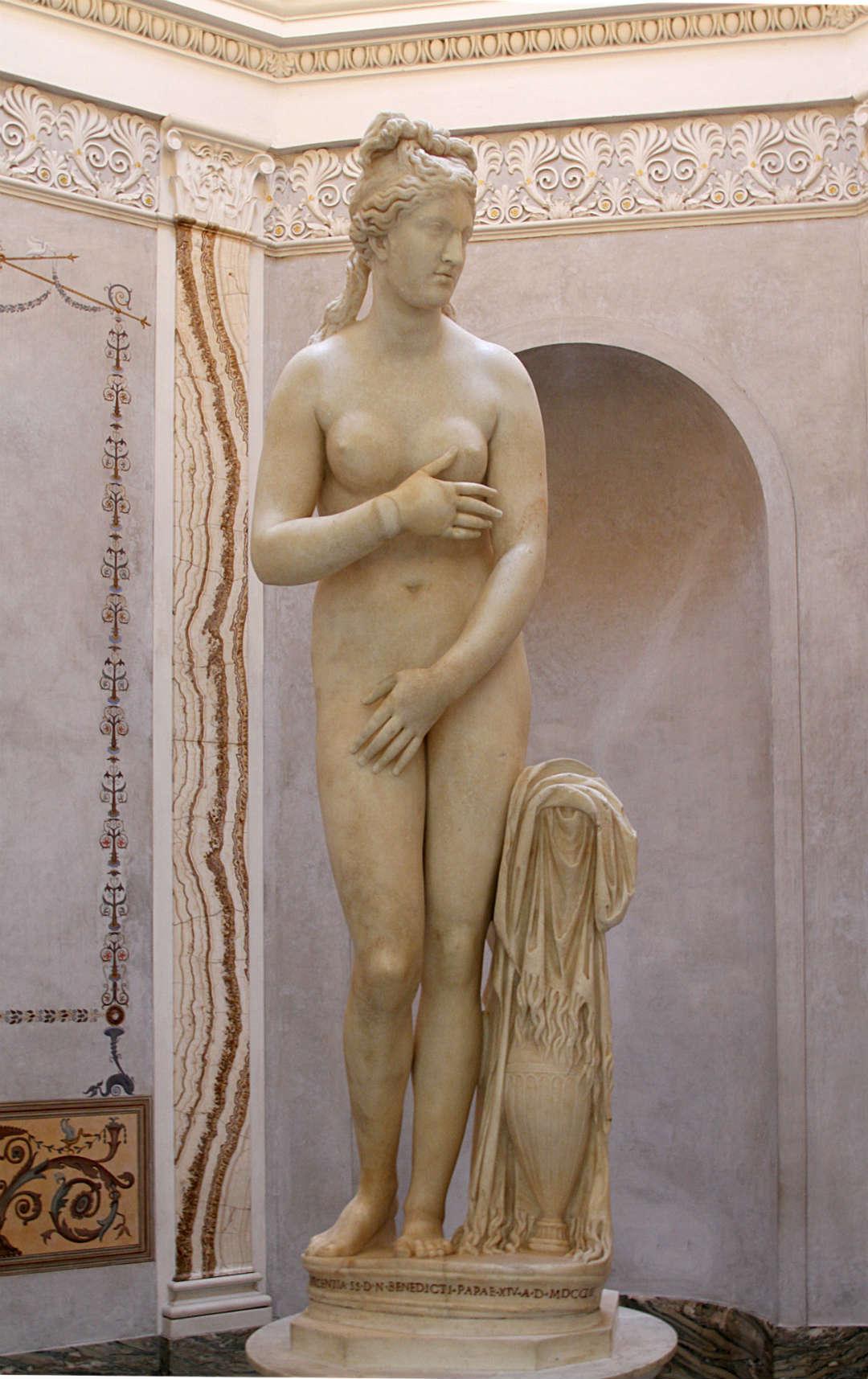 La Venus Capitolina (Museos Capitolinos)