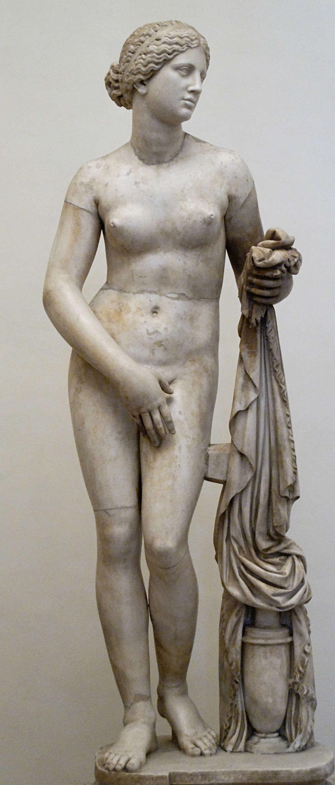 "La copia de Afrodita Cnidia llamada de ""Altemps"" o Ludovisi"
