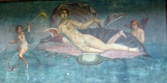 Mural de Pompeya de Venus Anadiomena