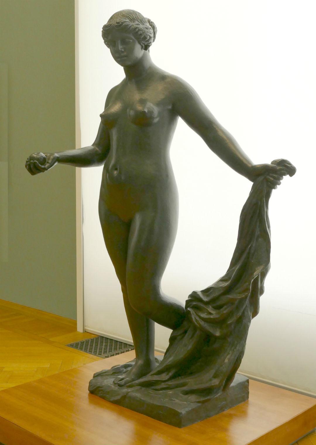 Fundición de la Venus Victoriosa en el Ekebergparken Sculpture Park de Oslo