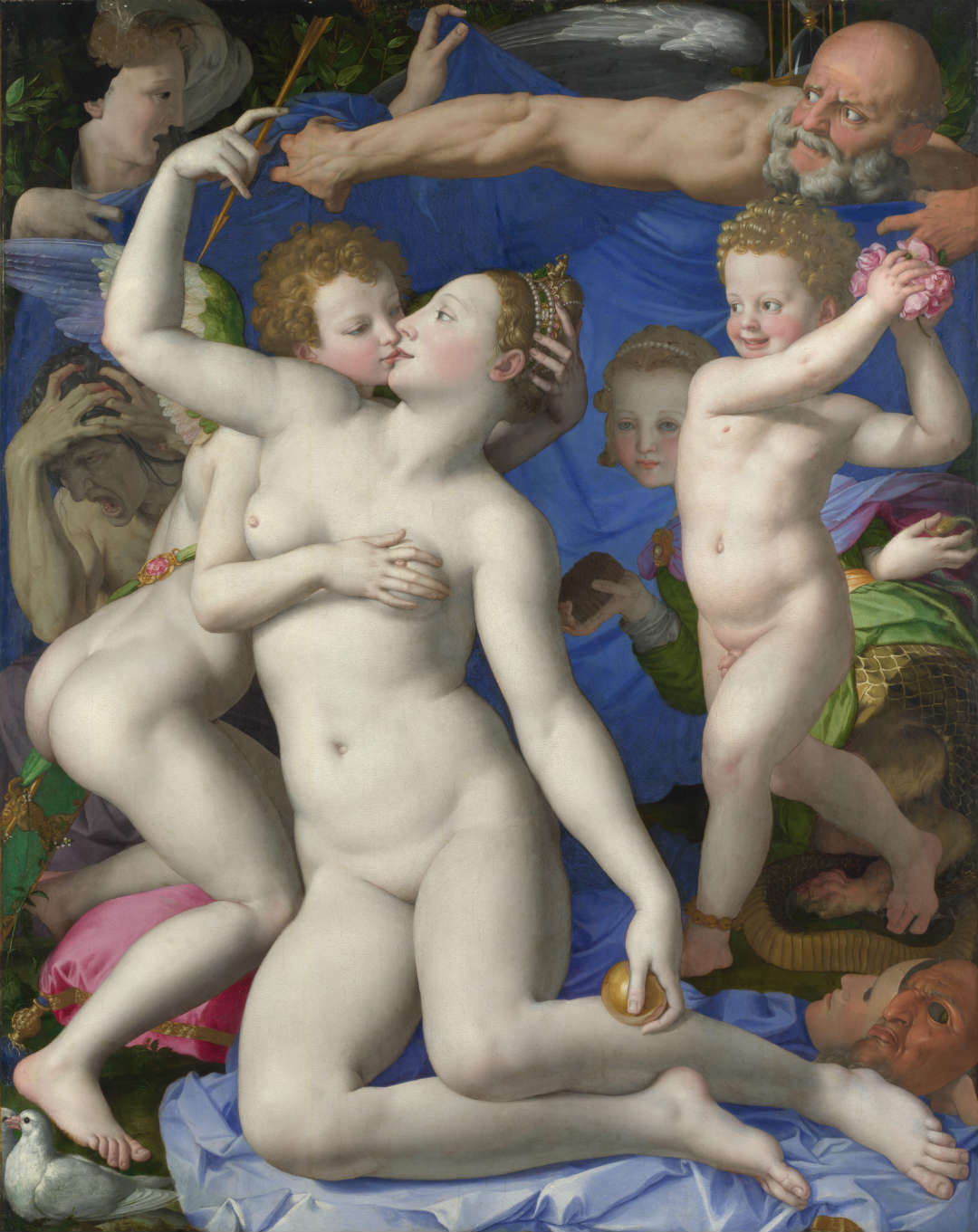 Angelo Bronzino - Venus, Cupid, Folly and Time - National Gallery, London