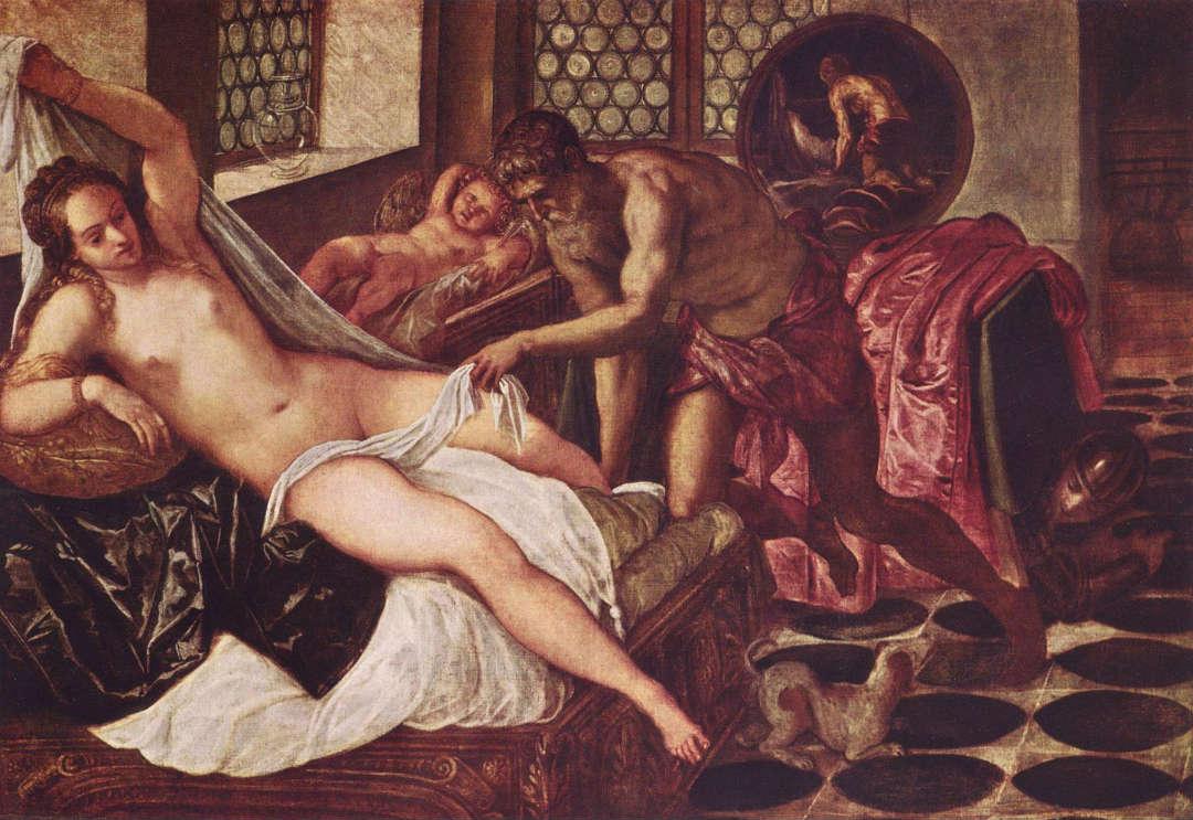 Venus, Vulcano y Marte, de Tintoretto