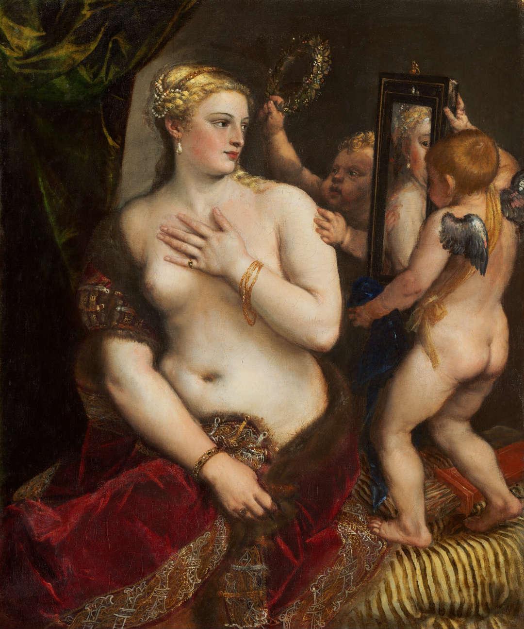Venus del espejo, de Tiziano
