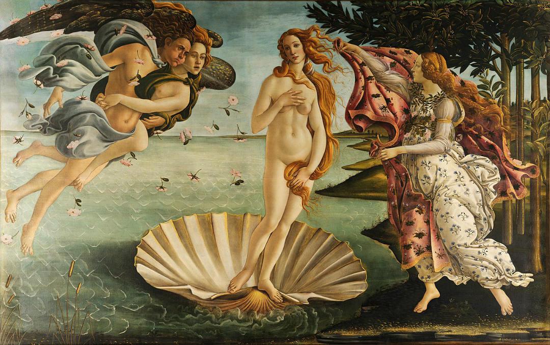 El nacimiento de Venus (La Nascita di Venere)